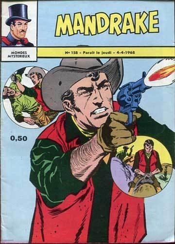 Couverture de Mandrake (1re Série - Remparts) (Mondes Mystérieux - 1) -158- Un saut dans le passe