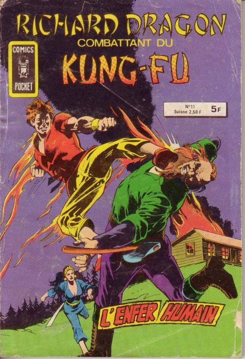 Couverture de Richard Dragon - Combattant du Kung-Fu (Arédit) -11- l'enfer humain