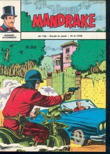 Couverture de Mandrake (1re Série - Remparts) (Mondes Mystérieux - 1) -156- La statue somnambule
