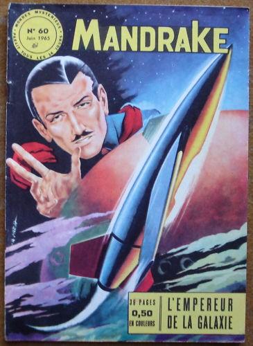 Couverture de Mandrake (1e Série - Remparts) (Mondes Mystérieux - 1) -60- L'empereur de la galaxie