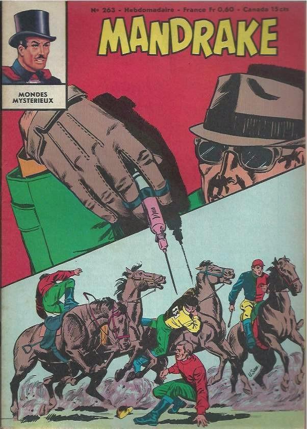 Couverture de Mandrake (1re Série - Remparts) (Mondes Mystérieux - 1) -263- Le secret du docteur roork