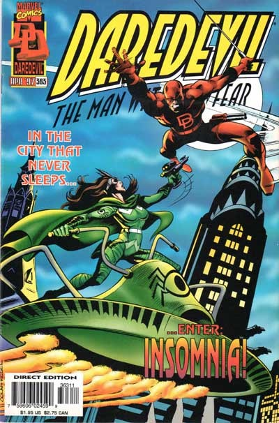 Couverture de Daredevil Vol. 1 (Marvel - 1964) -363- The city that never sleeps!