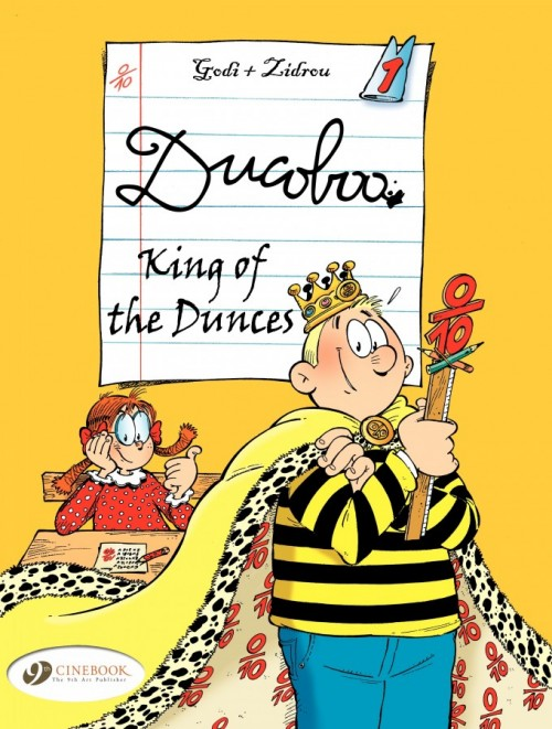 Couverture de Ducoboo -1- King of the Dunces