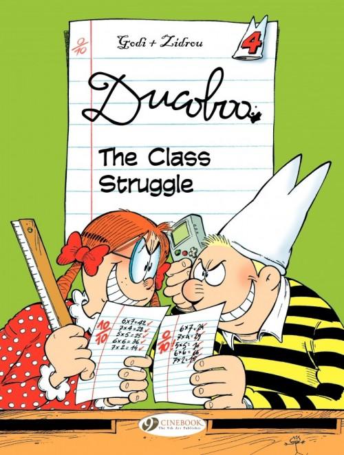 Couverture de Ducoboo -4- The Class Struggle