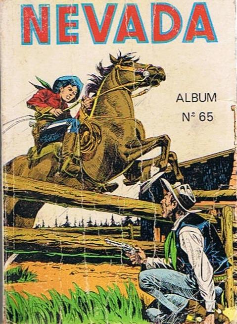 Couverture de Nevada (LUG) -Rec65- Album N°65 (du n°391 au n°394)