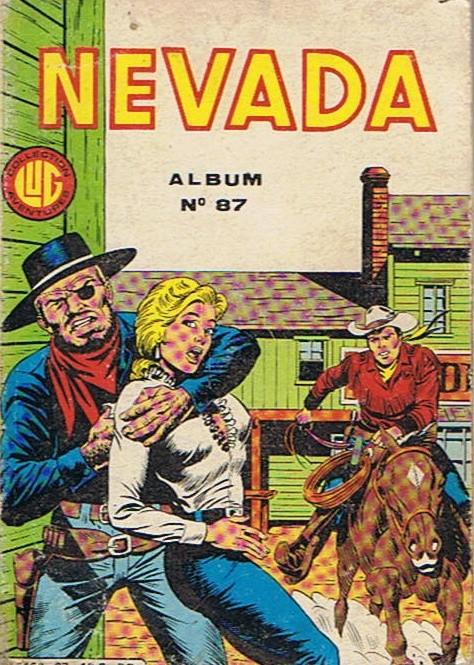 Couverture de Nevada (LUG) -Rec87- Album N°87 (du n°458 au n°460)