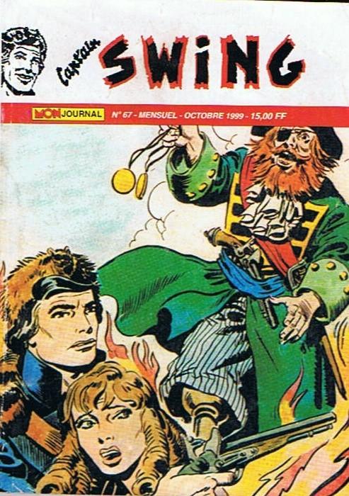 Couverture de Capt'ain Swing! (2e série - Mon Journal) -67- Le diabolique Lord Charles