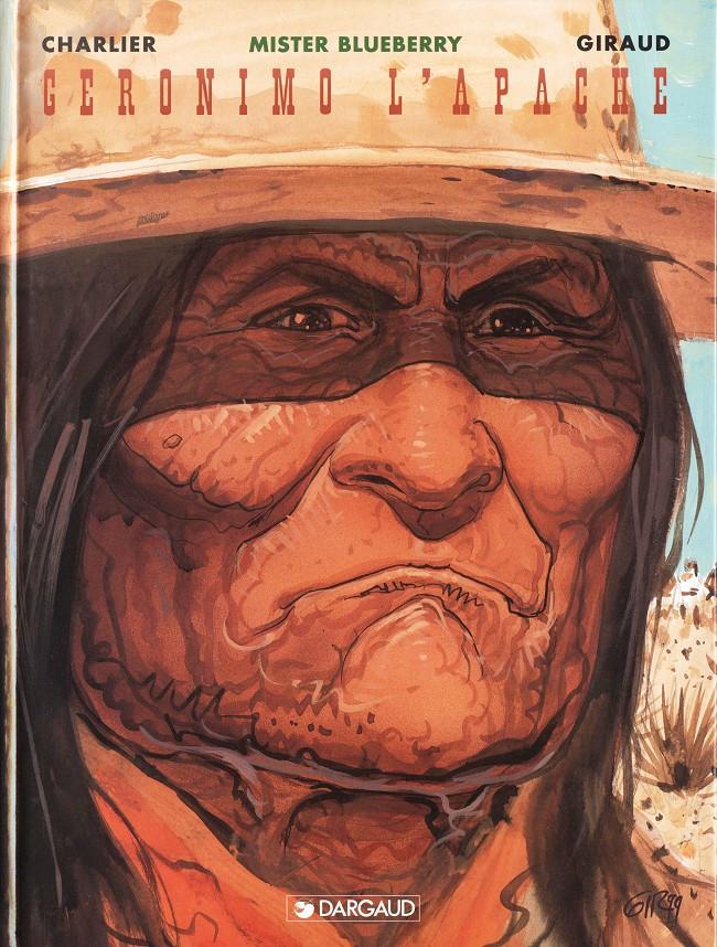 Couverture de Blueberry -26- Geronimo l'Apache