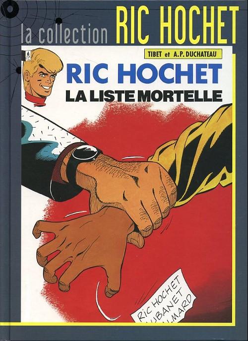 Couverture de Ric Hochet - La collection (Hachette) -42- La liste mortelle