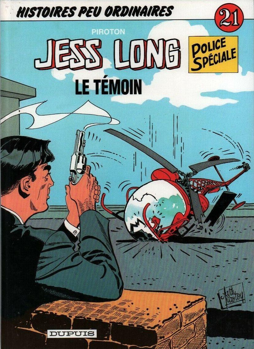 Couverture de Jess Long -21- Le témoin