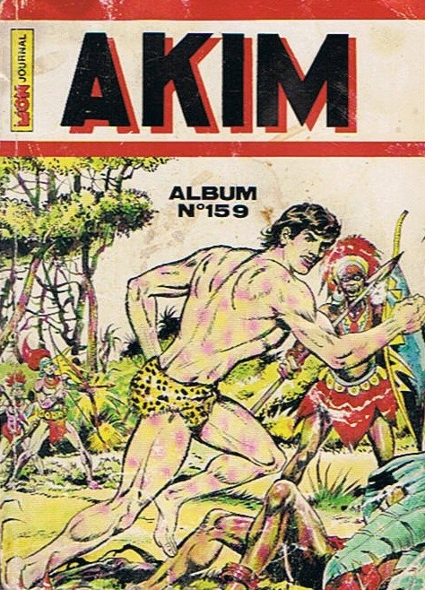 Couverture de Akim (1re série) -Rec159- Album N°159