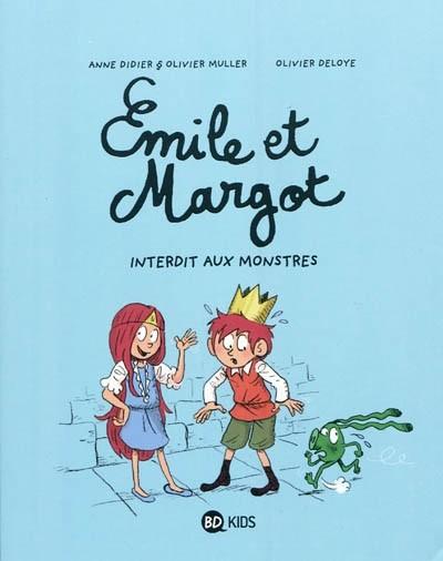 Couverture de Emile et Margot -1- Interdit aux monstres