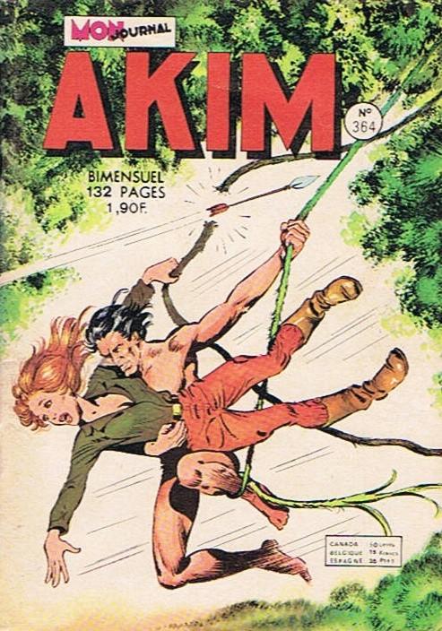 Couverture de Akim (1re série) -364- Comme deux gouttes d'eau