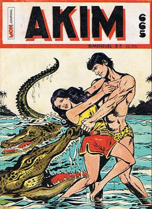 Couverture de Akim (1re série) -665- Les pirates de la jungle