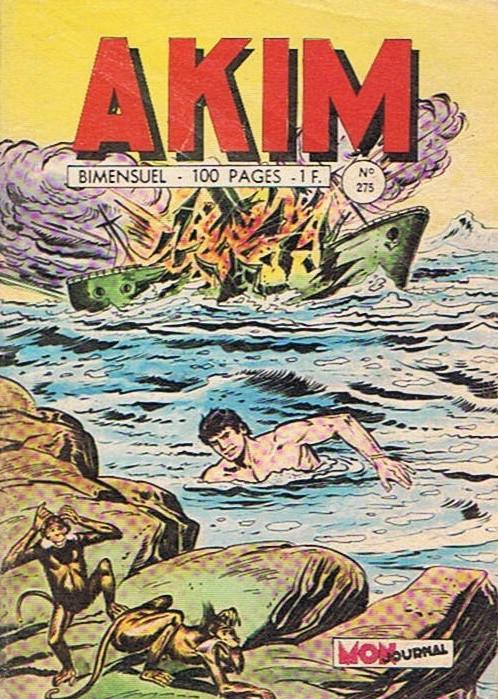 Couverture de Akim (1re série) -275- Le requin noir