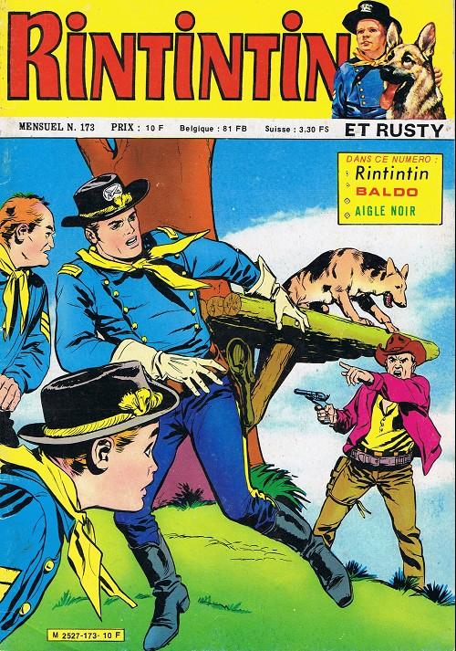 Couverture de Rin Tin Tin & Rusty (2e série) -173- La dernière bataille