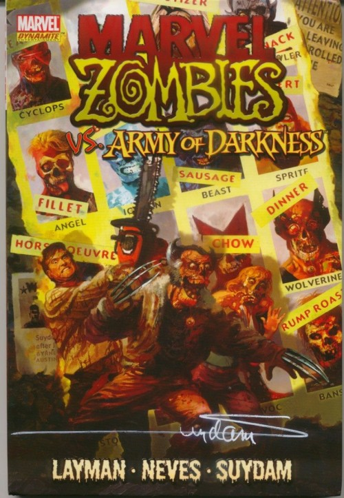 Couverture de Marvel Zombies Vs. Army of Darkness (Marvel/Dynamite - 2007) -INT- Marvel Zombies vs. Army of Darkness