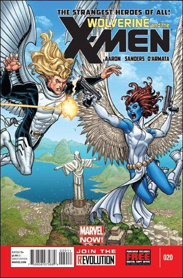 Couverture de Wolverine and the X-Men Vol.1 (Marvel comics - 2011) -20- The search for something new