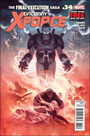 Couverture de Uncanny X-Force (2010) -34- Final execution part 10 : from the cradle to the grave