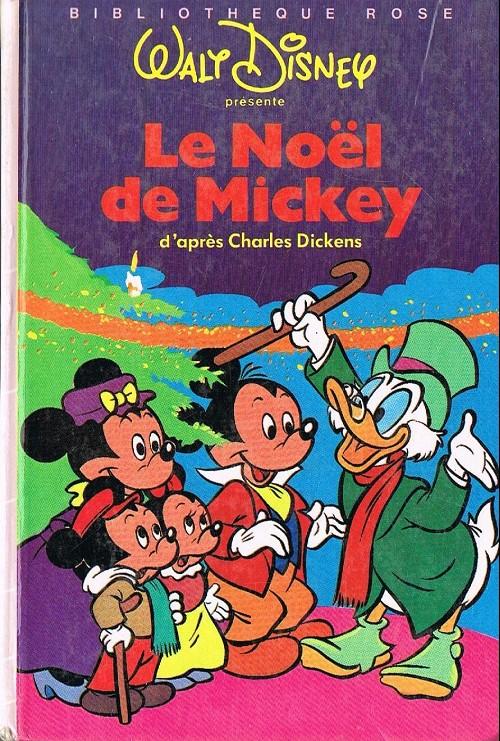 Image De Noel Walt Disney.Walt Disney Bibliotheque Rose Le Noel De Mickey