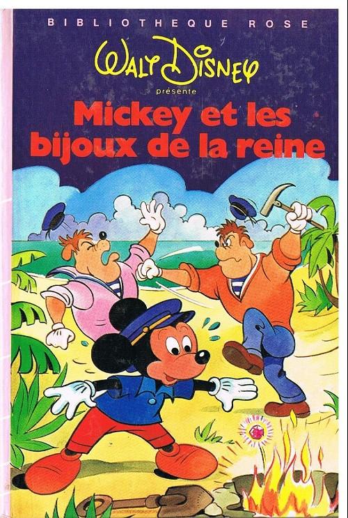 Walt Disney Bibliotheque Rose Mickey Et Les Bijoux De La
