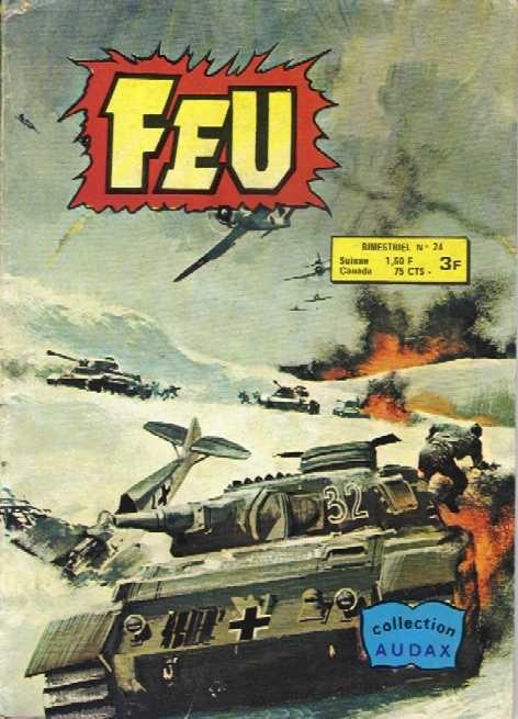 Couverture de Feu -24- Bombardiers en déroute