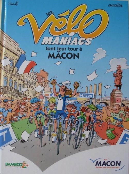 Couverture de Les vélo Maniacs -Pub- Font leur tour à Macon
