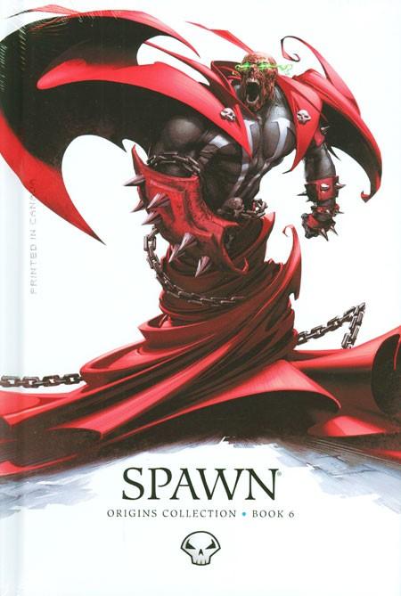 Couverture de Spawn (1992) -INTHC06- Origins Collection - Book 6