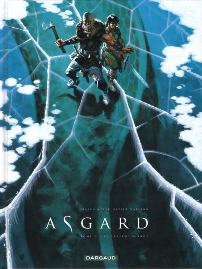 Couverture de Asgard -2- Le Serpent-Monde
