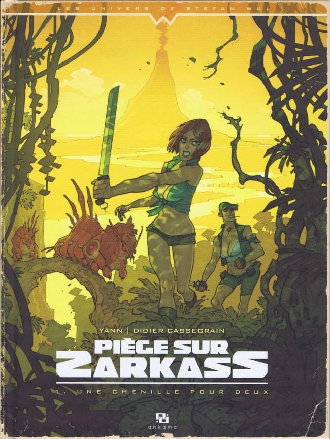 Couverture de Piège sur Zarkass -1- Une chenille pour deux