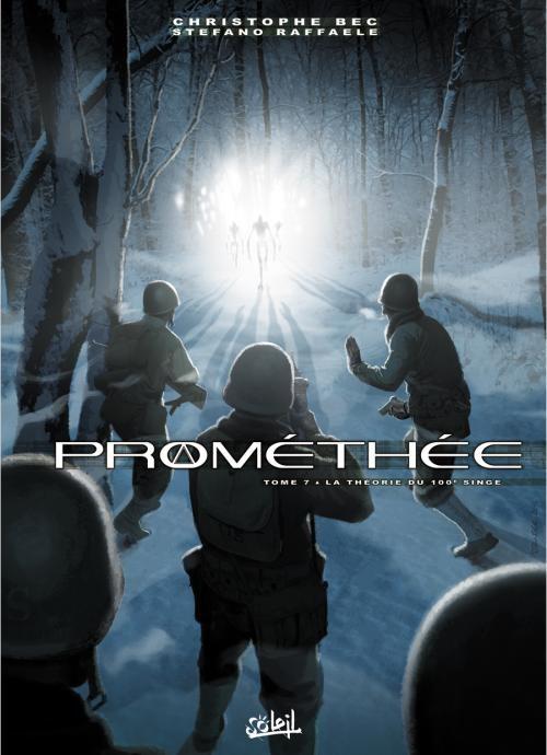 Couverture de Prométhée -7- La Théorie du 100e singe