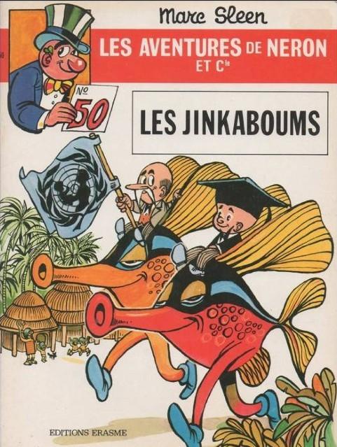 Couverture de Néron et Cie (Les Aventures de) (Érasme) -50- Les Jinkaboums