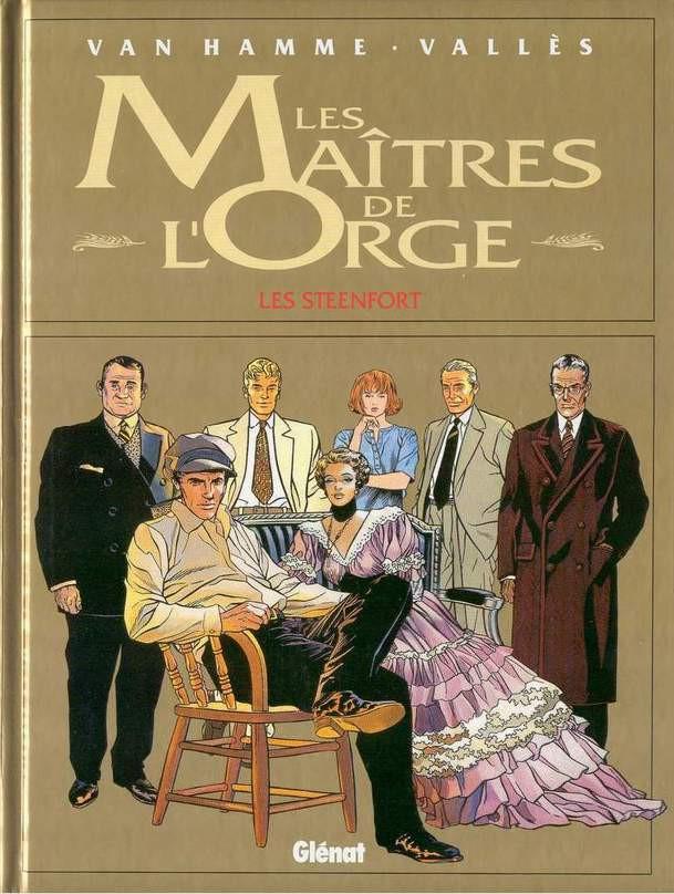 Couverture de Les maîtres de l'Orge -8- Les Steenfort