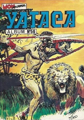 Couverture de Yataca (Fils-du-Soleil) -Rec56- Album N°56 (du n°189 au n°191)