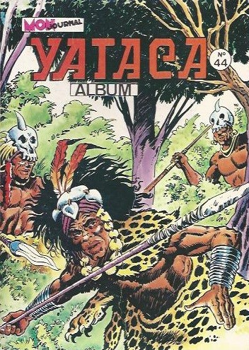 Couverture de Yataca (Fils-du-Soleil) -Rec44- Album N°44 (du n°153 au n°155)