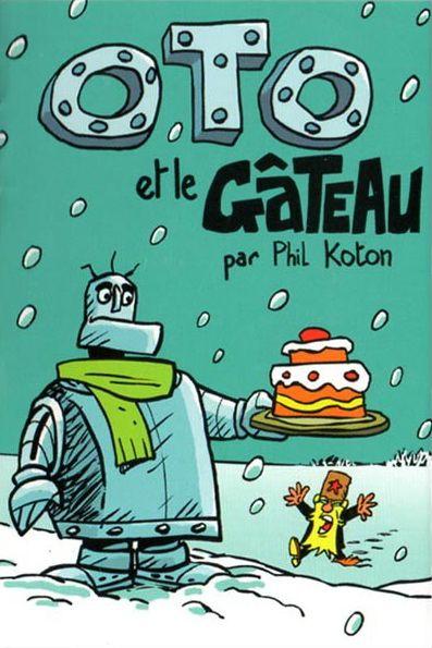 Couverture de Mini-récits et stripbooks Spirou -MR3660- Oto et le gâteau