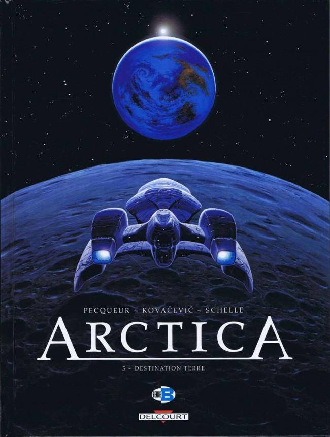 Couverture de Arctica -5- Destination terre