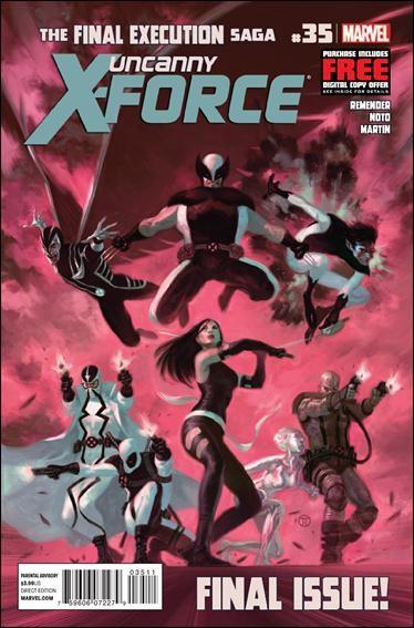 Couverture de Uncanny X-Force (2010) -35- Final Execution, part 11: Rainbows, Puppy Dogs & Sunshine