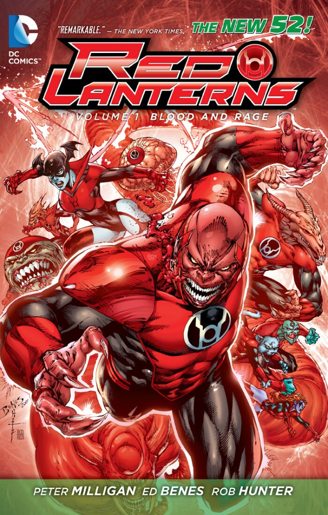 Couverture de Red Lanterns (2011) -INT01- Blood and rage