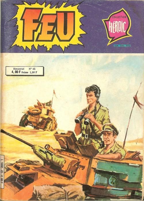 Couverture de Feu -45- Le Journal d'un tank