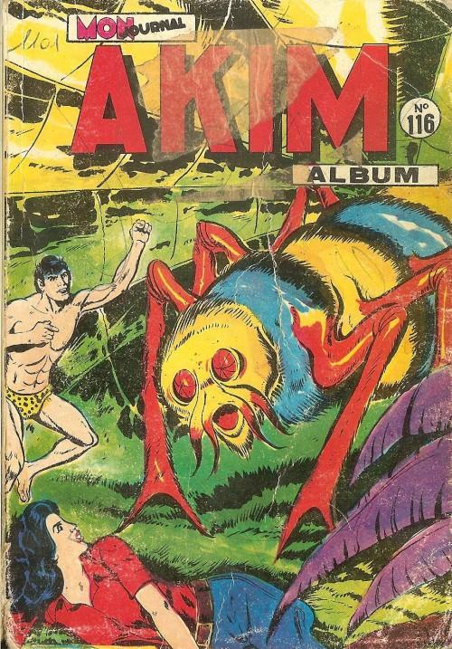 Couverture de Akim (1re série) -Rec116- Album N°116 (du n°585 au n°588)
