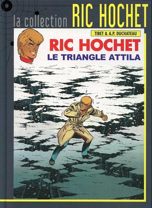 Couverture de Ric Hochet - La collection (Hachette) -45- Le triangle Attila