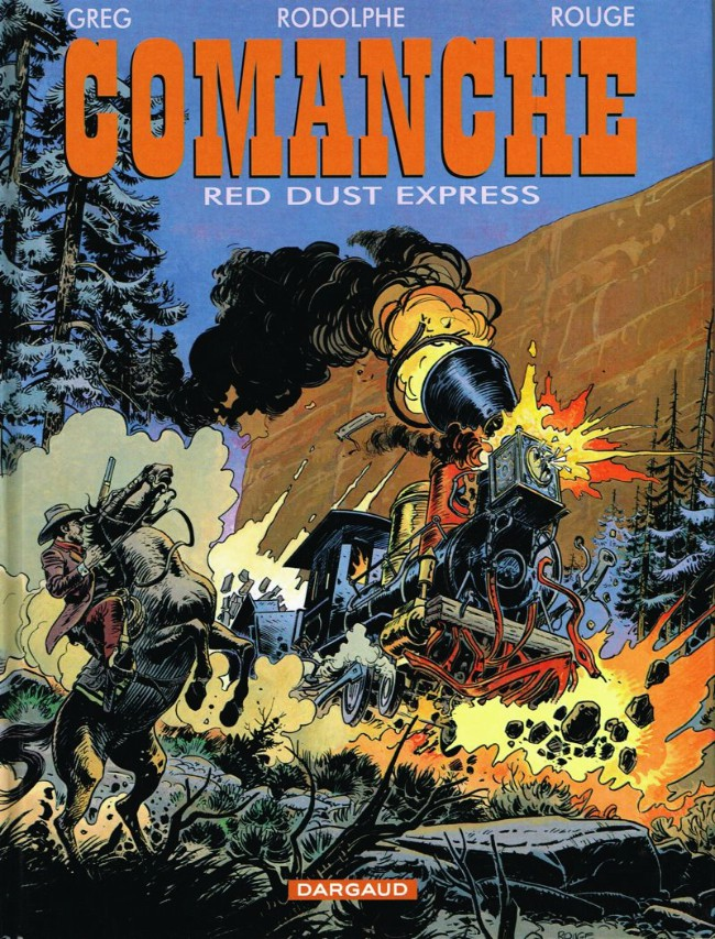 Couverture de Comanche -15- Red Dust express