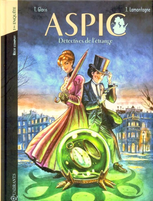 Couverture de Aspic, détectives de l'étrange -INT01- 1ère enquête