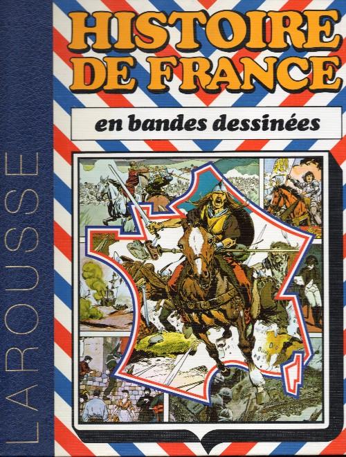 Couverture de Histoire de France en bandes dessinées (Intégrale) - Documentation Pédagogique