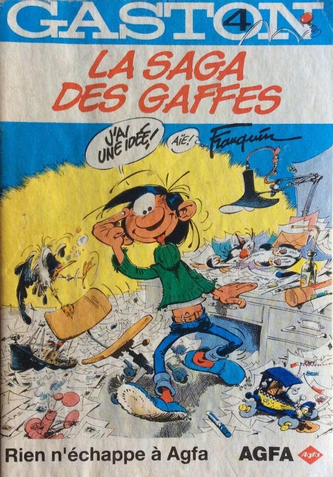 Couverture de Gaston (Hors-série) -Ag4- AGFA4-La saga des gaffes