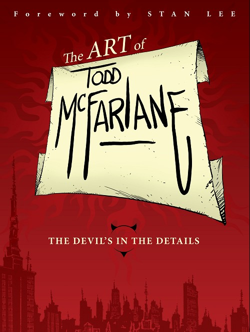 Couverture de (AUT) McFarlane - The art of Todd McFarlane: The devil's in the details