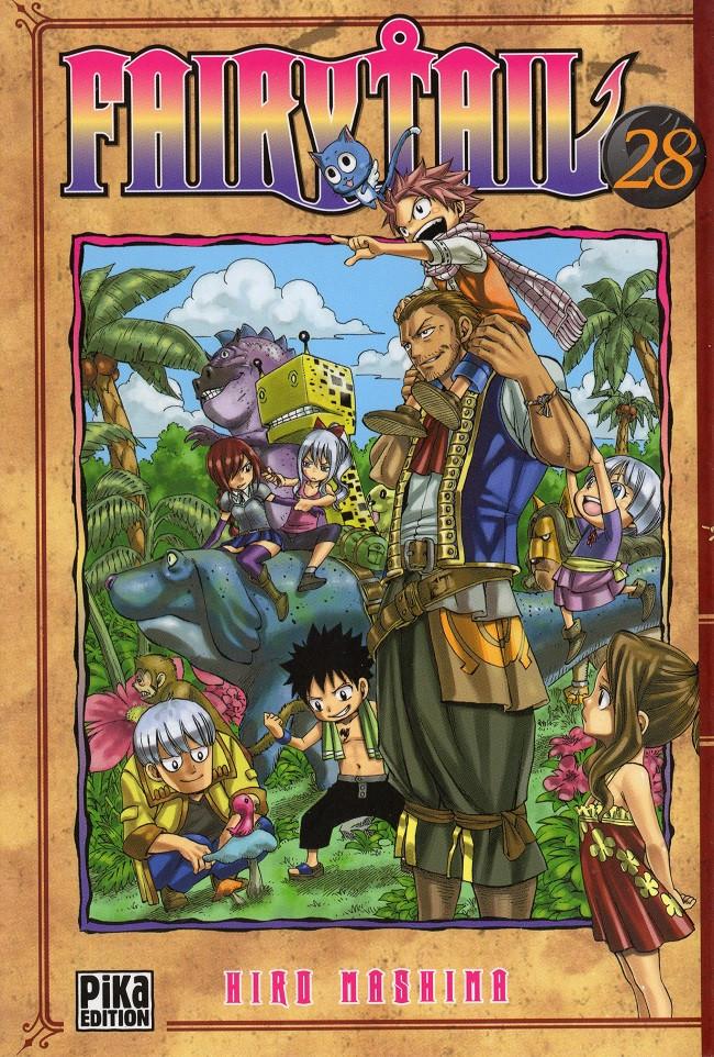 Couverture de Fairy Tail -28- Tome 28