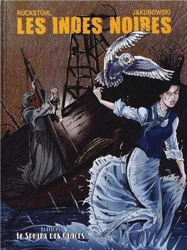 Couverture de Jules Verne et ses voyages -1- Les Indes noires