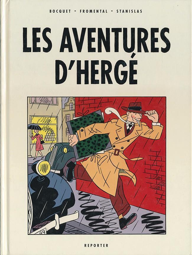 Couverture de Les aventures d'Hergé